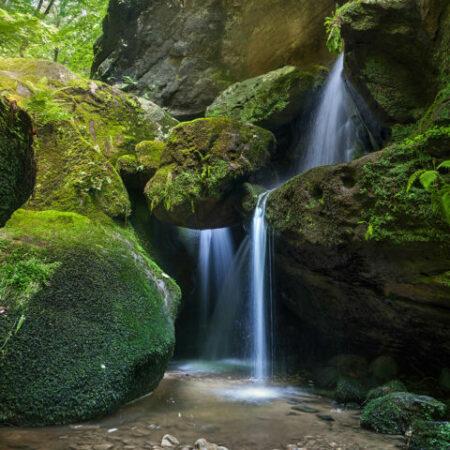 Wasserfälle Sächsische Schweiz