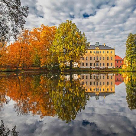 Schlosspark Lauterbach im Herbst
