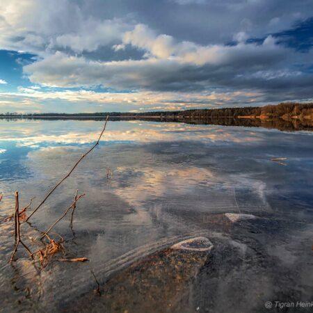 Zschornaer Teiche im Winter